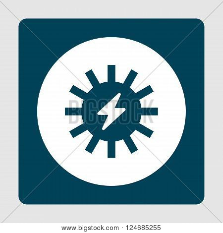 Solar Energy Icon In Vector Format. Premium Quality Solar Energy Icon. Web Graphic Solar Energy Icon