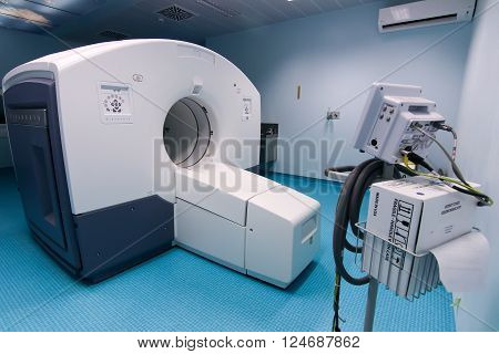 Official Opening Of The First Ct Imaging Pet-ct Scanner