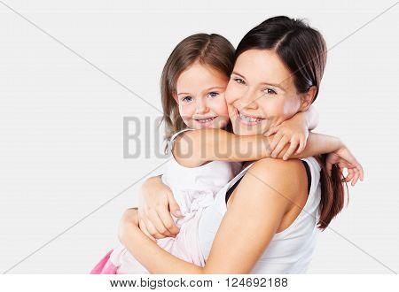 Mother hug.
