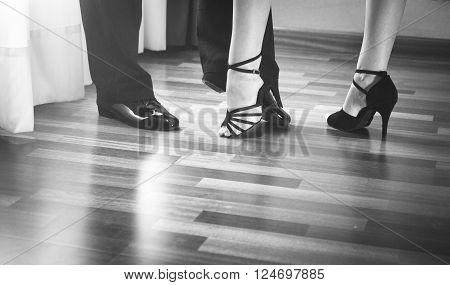 Ballroom Dance Latin Dancers