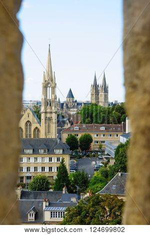 View Of Downtown Caen