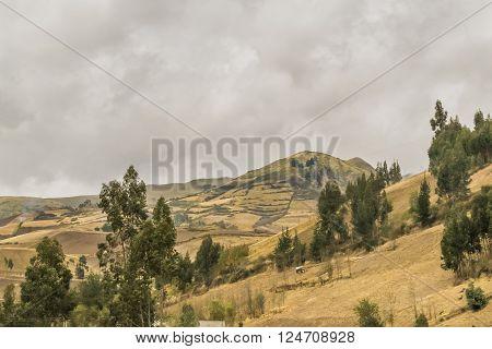 Quito Outsides Mountain Landscape