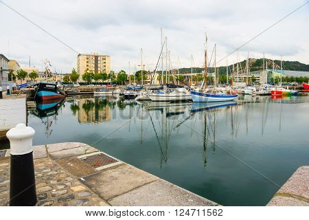 The Port In Cherbourg
