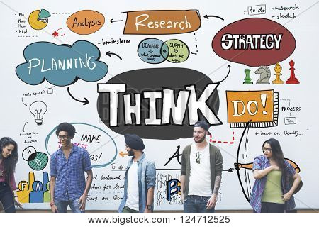 Think Thinking Idea Determination Planning Mind Concept