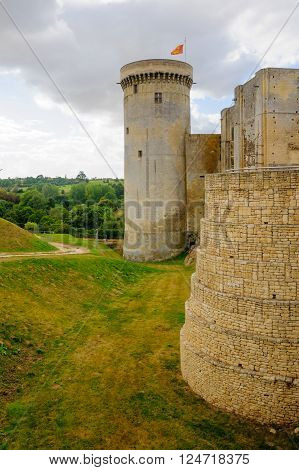 View Of The Chateau De Falaise