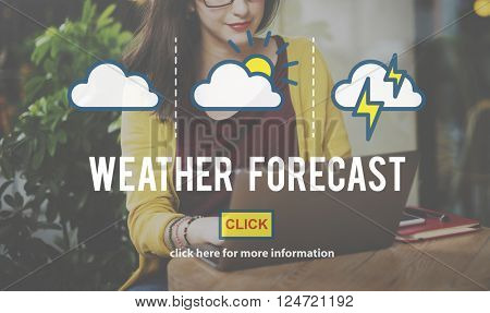 Weather Forecast Measure Prediction Temperature Concept