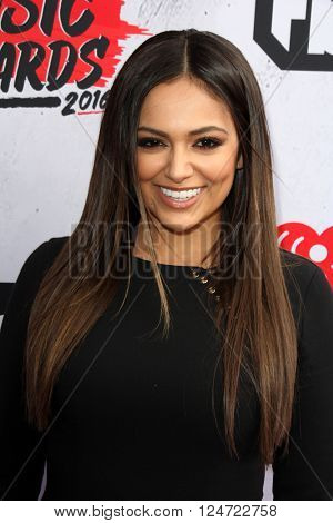 LOS ANGELES - APR 3:  Bethany Mota at the iHeart Radio Music Awards 2016 Arrivals at the The Forum on April 3, 2016 in Inglewood, CA