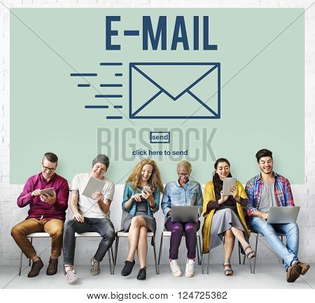 E-mail Correspondence Envelope Message Deliver Concept