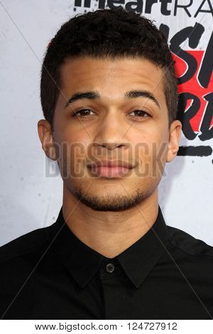 LOS ANGELES - APR 3:  Jordan Fisher at the iHeart Radio Music Awards 2016 Arrivals at the The Forum on April 3, 2016 in Inglewood, CA