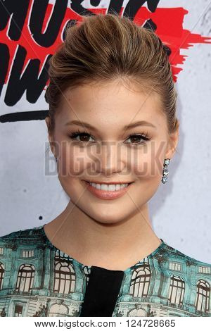 LOS ANGELES - APR 3:  Olivia Holt at the iHeart Radio Music Awards 2016 Arrivals at the The Forum on April 3, 2016 in Inglewood, CA