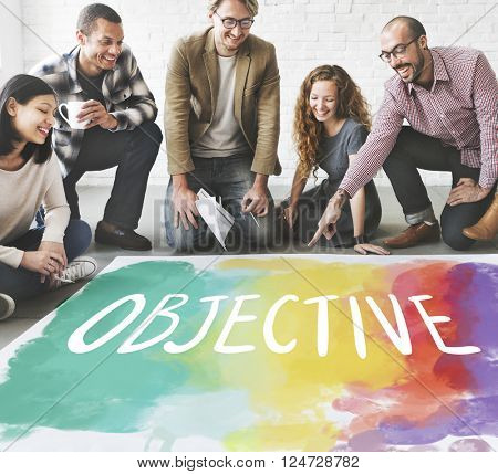Objective Aim Direction Motivation Plan Target Concept