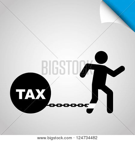tax time design, vector illustration eps10 graphic