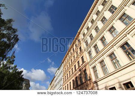Classic architecture in the Neighborhood of Kreuzberg Berlin Germany.