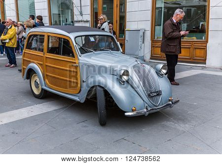 Trieste Opicina Historic Is Regularity Run For Vintage And Classic Cars