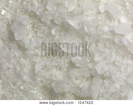 Salt Crystals Close-Up