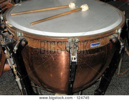 Large Copper Kettledrum