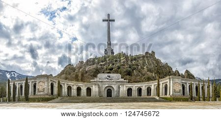 Valley Of The Fallen (valle De Los Caidos), Madrid, Spain.