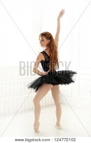 Lifestyle, sport. Ballerina during performance