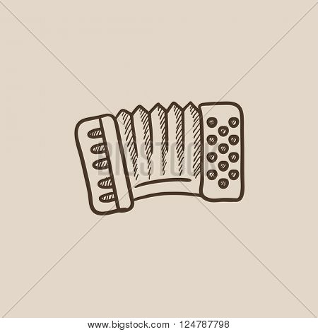 Accordion sketch icon.
