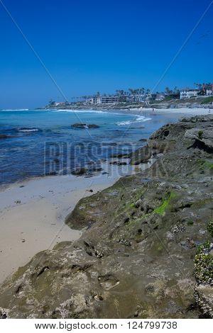 Rocky Beach in La Jolla, San Diego