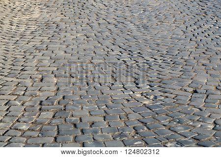 Dark Grey Flag-stone Pavement