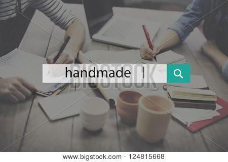 Handmade Hobby Homemade Skills Handicraft Concept