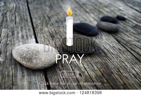 Pray Religion Spiritual Worship Spirituality Concept