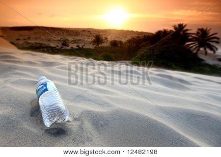 desert sand water