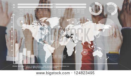 Global Community International Networking Concept