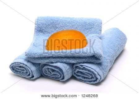 Natural Soap And Towels