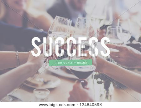 Success Win Achievement Improvement Text Concept