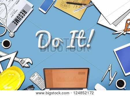 Do it! Motivation Encourage Proactive Concept