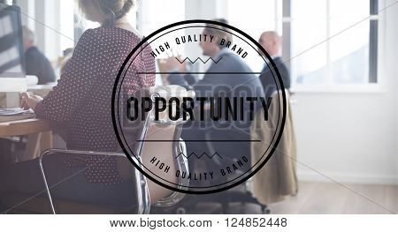 Opportunity Chance Career Impossible Achievement Concept