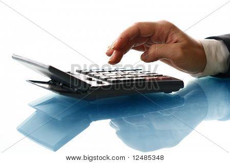 calcular a mão da menina