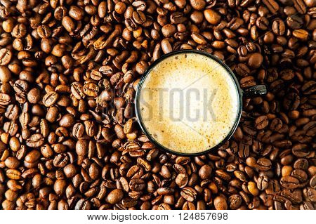 Cup Of Coffee Espresso.