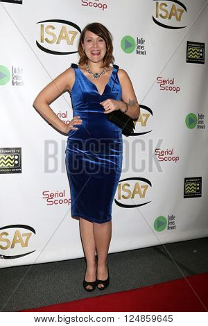 LOS ANGELES - APR 6:  Amber Nash at the 7th Annual Indie Series Awards at the El Portal Theater on April 6, 2016 in North Hollywood, CA