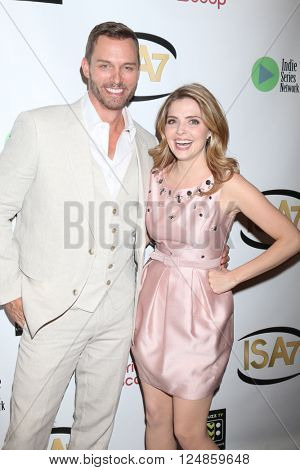 LOS ANGELES - APR 6:  Eric Martsolf, Jen Lilley at the 7th Annual Indie Series Awards at the El Portal Theater on April 6, 2016 in North Hollywood, CA