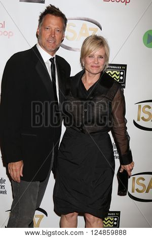 LOS ANGELES - APR 6:  Matthew Ashford, Mary Beth Evans at the 7th Annual Indie Series Awards at the El Portal Theater on April 6, 2016 in North Hollywood, CA