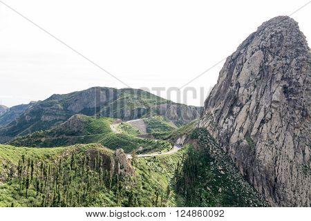 Tared Road To Roque De Agando