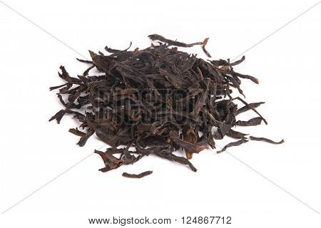 Honey Orchid Oolong, isolated on white background