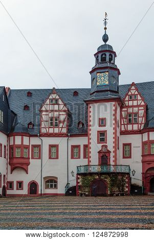 Weilburg Castle is one of the most important baroque palaces in Hesse Germany