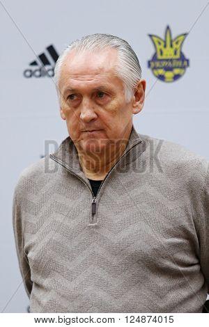 Head Coach Of Ukraine National Team Mykhailo Fomenko