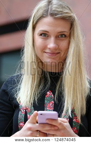 Sabre Fencer, Olympic Champion Olha Kharlan
