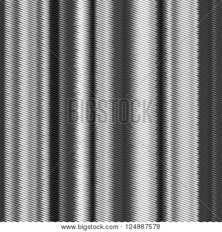 Glitch background. Black and white abstract vector background with glitch effect. Corrupted digital image file. Halftone texture.
