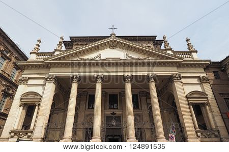 San Filippo Neri Church In Turin