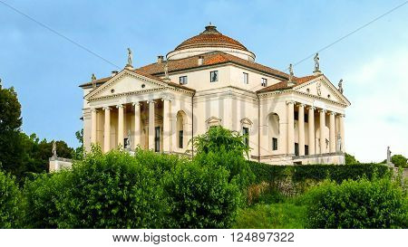 Villa Almerico-Capra also known as Villa La Rotonda located in Vicenza (Veneto) Italy was designed by the architect Andrea Palladio in 1566.