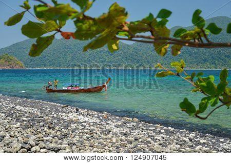 Koh Hin Ngam (Stone island) Lipe island Thailand