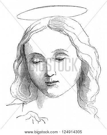 Saint Thomas, vintage engraved illustration. Magasin Pittoresque 1847.