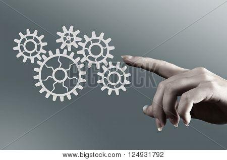 Effective working mechanism