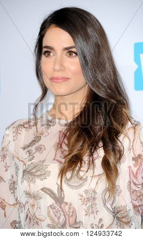 Nikki Reed at the WE Day California held at the Forum in Inglewood, USA on April 7, 2016.